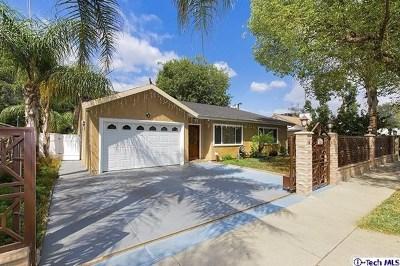 Northridge Single Family Home For Sale: 7851 Texhoma Avenue