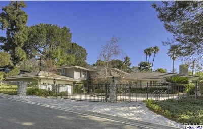 La Canada Flintridge Single Family Home For Sale: 2245 Richey Drive