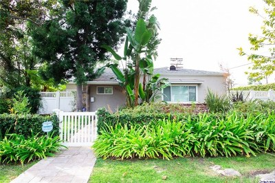 Toluca Lake Single Family Home Active Under Contract: 5139 Strohm Avenue