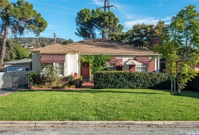 Glendale Single Family Home For Sale: 2974 Santa Rosa