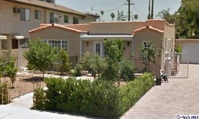 Glendale Multi Family Home For Sale: 1020 Raymond Avenue