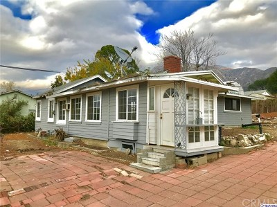 Tujunga Single Family Home For Sale: 10606 Mountair Avenue