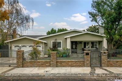 North Hollywood Single Family Home For Sale: 4932 Ledge Avenue