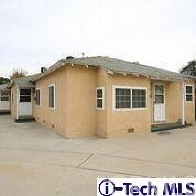 North Hollywood Multi Family Home For Sale: 5912 Cahuenga Boulevard