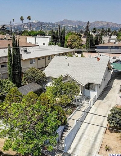 Los Feliz Single Family Home For Sale: 4427 Prospect Avenue
