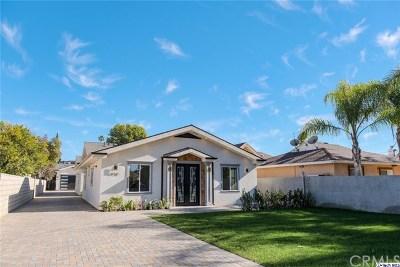 Van Nuys Single Family Home For Sale: 6938 Peach Street