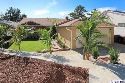 Glendale Single Family Home For Sale: 3704 El Moreno Street