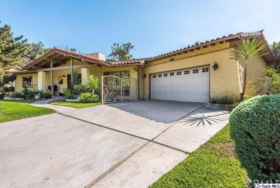 Glendale Single Family Home For Sale: 3400 Linda Vista Road