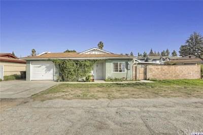 Covina Single Family Home For Sale: 1233 W Badillo Street