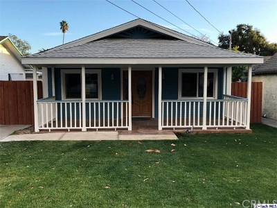 Monrovia Single Family Home For Sale: 908 Valley View Avenue