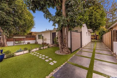 Toluca Lake Single Family Home For Sale: 10752 Acama Street