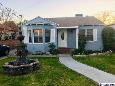 San Fernando Multi Family Home For Sale: 1206 Mountain View Street
