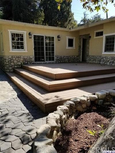 Shadow Hills Single Family Home For Sale: 10225 Sunland Boulevard