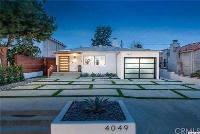 Studio City Single Family Home For Sale: 4049 Cartwright Avenue
