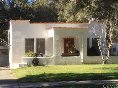 La Crescenta Single Family Home For Sale: 3300 Montrose Avenue