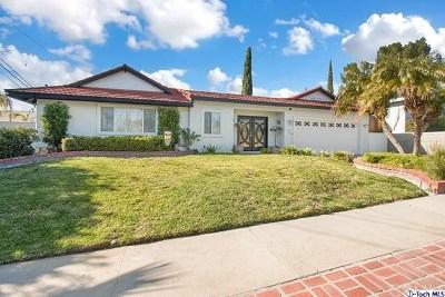 Granada Hills Single Family Home For Sale: 12025 Gerald Avenue
