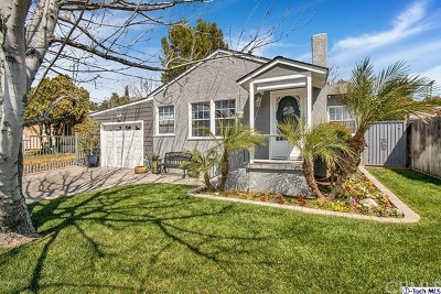 Tujunga Single Family Home Active Under Contract: 10318 Fernglen Avenue