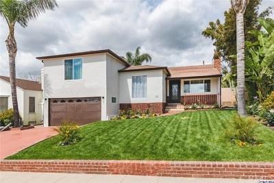 Burbank CA Single Family Home For Sale: $1,199,000