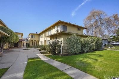 Valley Village Multi Family Home For Sale: 5515 Radford Avenue