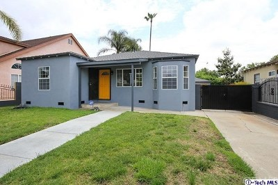 North Hollywood Single Family Home For Sale: 6502 Beeman Avenue