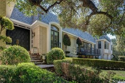 La Canada Flintridge Single Family Home For Sale: 874 Highland Drive
