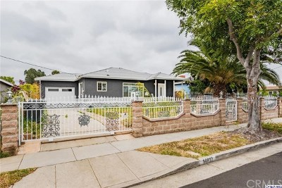 Gardena Single Family Home For Sale: 14812 S Denker Avenue