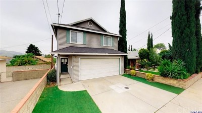 Tujunga Single Family Home For Sale: 10211 Helendale Avenue
