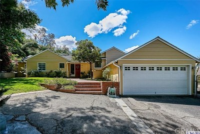 La Canada Flintridge Single Family Home For Sale: 5034 Merita Place