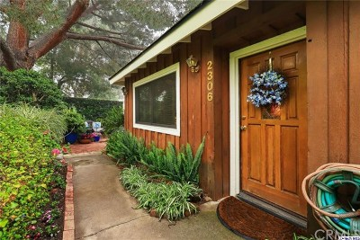 La Crescenta Single Family Home For Sale: 2306 Manzanita Lane