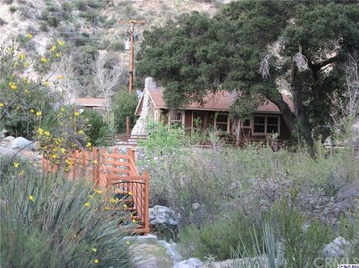 Tujunga Single Family Home Active Under Contract: 19408 N Trail Canyon