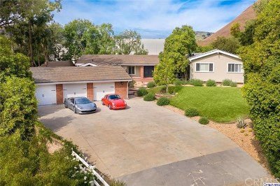 Hidden Hills Single Family Home Active Under Contract: 23760 Oakfield Road