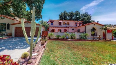 Glendale Single Family Home For Sale: 2520 Hollister Terrace