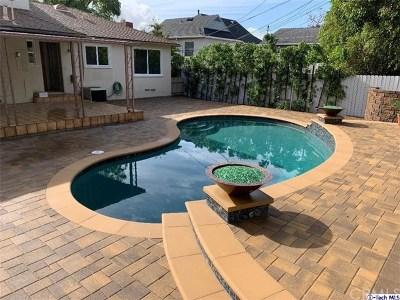 Glendale Single Family Home For Sale: 1811 Hillside Drive