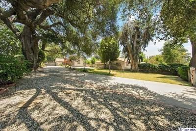 Altadena Single Family Home For Sale: 2086 Maiden Lane