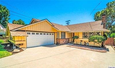 Glendale Single Family Home For Sale: 3922 Community Avenue
