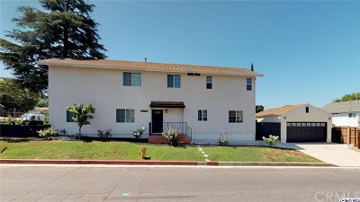 Sunland Single Family Home For Sale: 10863 Mather Ave