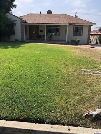 Glendale Single Family Home Active Under Contract: 1362 Ruberta Avenue