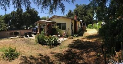 Tujunga Single Family Home For Sale: 7627 Beckett Street
