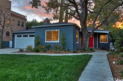 Toluca Lake CA Single Family Home For Sale: $1,449,000