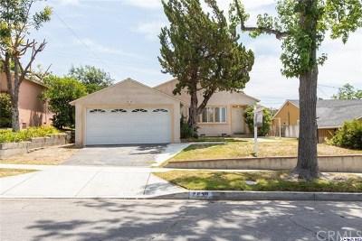 Burbank Single Family Home For Sale: 2930 N Brighton Street