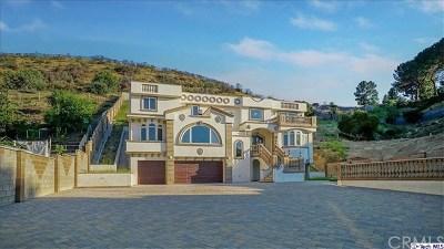 Shadow Hills Single Family Home For Sale: 10270 Sunland Boulevard