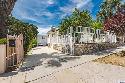 Tujunga Multi Family Home For Sale: 9839 Haines Canyon Avenue