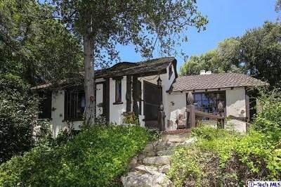 Glendale Single Family Home For Sale: 1855 Verdugo Knolls Drive