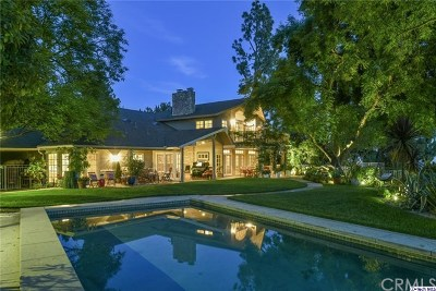 La Canada Flintridge Single Family Home For Sale: 5391 Ocean View Boulevard