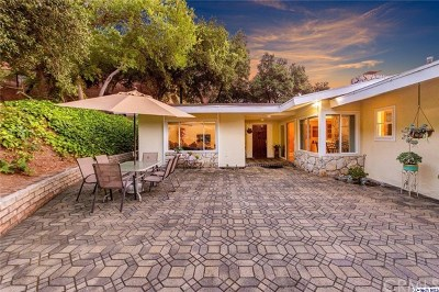 Glendale Single Family Home For Sale: 2945 Greenwich Road