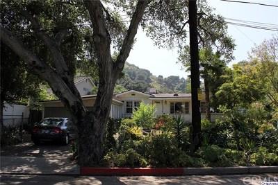 Glendale Single Family Home For Sale: 1516 Hillside Drive