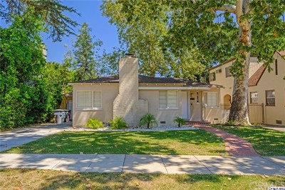 Glendale Single Family Home For Sale: 1228 Moncado Drive