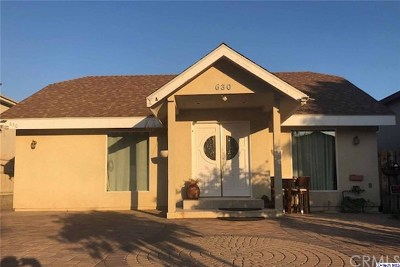 Burbank CA Multi Family Home For Sale: $1,600,000