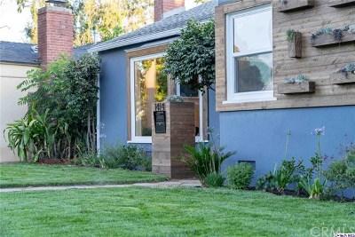 Glendale Single Family Home For Sale: 1414 Randall Street