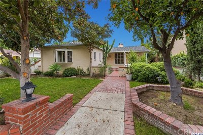 Burbank Single Family Home For Sale: 914 N Catalina Street